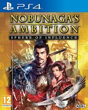 Nobunaga's Ambition (PS4) BRAND NEW SEALED BATTLE PLAYSTATION
