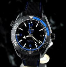 new OMEGA Seamaster BLUE DEEP BLACK PLANET OCEAN GMT Ceramic 215.92.46.22.01.002