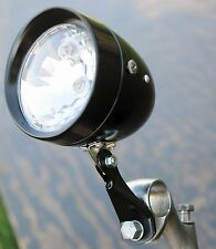 Black Vintage Schwinn Stingray Bicycle HEAD LIGHT Cruiser Bike Lowrider Chopper