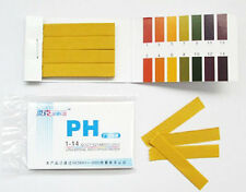 80 PH Paper Strips Litmus Water Tester For Tropical Aquarium Fish Tank AK179