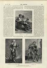 1900 Joseph Jefferson Rip van Winkle agradable aspecto Filly dibujos animados