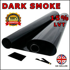 DARK SMOKE 15% 6M x75CM ( 2 x ROLL 3M x 75CM ) CAR WINDOW TINT FILM TINTING
