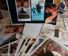 Limited Edition TITANIC VHS boxed set script photos never viewed film cell boxed