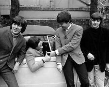 THE BEATLES JOHN LENNON TRIUMPH HERALD 1964 SPORTS CAR PAUL RINGO GEORGE FAB 4