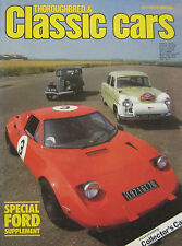 Thoroughbred & Classic Cars magazine 10/1981 featuring Alfa Romeo, Ford, Allard