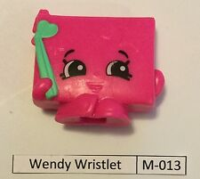 #8 Shopkins McDonalds Happy Meal Wendy Wristlet M-013 with M-040 Sneaky Wedge