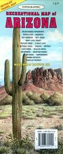 NEW 2013~MAP of ARIZONA, Recreational Topo Map, GTR~Index, Rte.66,Pts.of Intrest