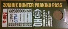 ZOMBIE HUNTER REARVIEW-MIRROR-HANGING PARKING PASS 2013