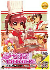 Yumeiro Patissiere Season.1 + 2 (TV Series) DVD + Free Gift