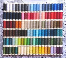 120 NEW Different colors GUTERMANN 100% polyester sew-all thread 110 yd spools