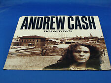 ANDREW CASH - Boomtown / These Days - 1989 NEAR MINT- with PICTURE SLEEVE