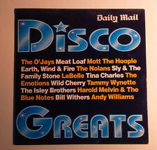 DISCO GREATS CD O'Jays Meat Loaf Mott The Hoople Nolans LaBelle Tina Charles