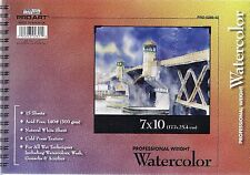 SPIRAL BOUND WATERCOLOR PAD 9X12 140 LB ~NEW!