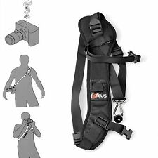 Black Rapid Camera Shoulder Strap Neck Belt Sling For Canon Nikon Sony DSLR