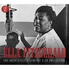ELLA FITZGERALD - THE ABSOLUTELY ESSENTIAL 3CD COLLECTION 3 CD NEU