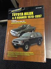 Toyota Hilux Surf 4 Runner 1979-1997 Workshop Manual LN Diesel Repair