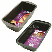 1LB (450g) OR 2LB (900g) Non-tick Loaf Pan Baking Fruit Cake Bread Tin Oven Tray