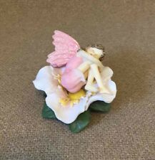 DENZINE HIBISCUS The Fairy Collection Figure and Flower Porcelain #5903 Fig 6141