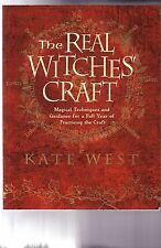 **uncmn** THE REAL WITCHES' CRAFT-2008-KATE WEST-MODERN WITCHCRAFT, sftcvr, A++