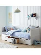 Georgie White Day Bed with Storage Drawers RRP £375