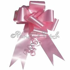 50mm or 30mm Waterproof Large Ribbon Pull Bows Wedding Car Gift Wrap Floristry