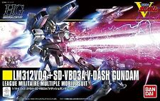 Gundam 1/144 HGUC #188 LM312V04 + SD-VB03A V-Dash Gundam Model Kit Bandai USA