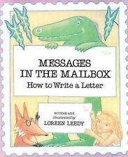 Messages in the Mailbox: How to Write a Letter-ExLibrary