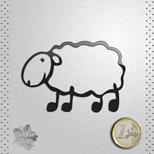 STICKER OVEJA LATXA VINILO PEGATINA DECAL AUTOCOLLANT AUFKLEBER SHEEP MOUTON 貼紙