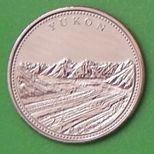 1992 Canada Yukon Quarter From Mint's Wrapped Roll