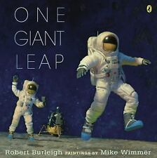 One Giant Leap by Robert Burleigh (2014, Picture Book)