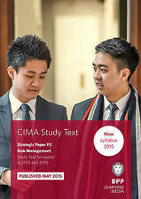 CIMA P3 Risk Management: Study Text by BPP Learning Media (Paperback, 2015)