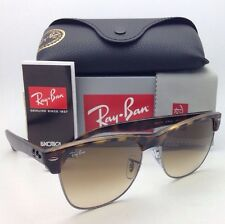 Ray-Ban Sunglasses CLUBMASTER OVERSIZED RB 4175 878/51 Havana&Gunmetal w/ Brown