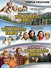 ADVENTURES OF THE WILDERNESS FAMILY 1 2 & 3 Trilogy   -  DVD - REGION 1 - Sealed