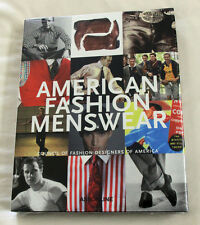 AMERICAN FASHION MENSWEAR hardcover SEALED book Robert E. Bryan brand new