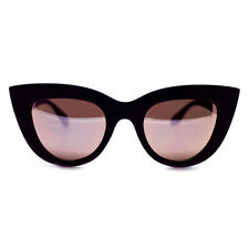 "NEW QUAY Black/Pink ""KITTI"" Sunglasses -SALE"