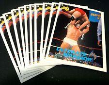 ULTIMATE WARRIOR 1990 Classic WWF LOT of 10 Wrestling VINTAGE Cards #5  LEGEND