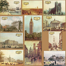 11x Victorian Old Postcards Westminster Abbey Big Ben Buckingham London Lot Gift
