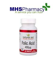 Folic Acid  400mcg Tablets x 90