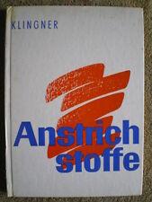 Anstrichstoffe - DDR Buch Maler Lackierer Drogisten Farben Beizen Untergründe