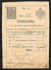 Montenegro covers 1898 Label