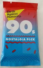 NEW Cards Against Humanity 90s Nostalgia Pack Expansion Set Sealed 30 Cards