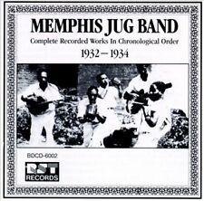 MEMPHIS JUG BAND - Complete Recorded Works (1932-1934) CD * NEW/ STILL SEALED *