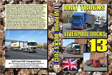2580. Liverpool Docks. UK. Trucks.May 2013. This film taking on very sunny days