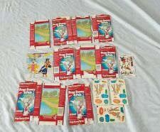 1986 Bugs Bunny Tropical Punch Drink Mix Box Lot with Stickers