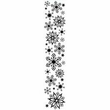 NEW Snowflake Border Universal Embossing Folder 1218-88  2.5x12
