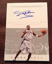 Tracy McGrady 2014-15 National Treasures Signatures on-card Auto #d/49 - RAPTORS