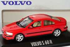 wonderful PR-modelcar VOLVO S60R 2003 - signalred - scale 1/43 - lim.edition