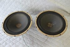 "Vintage AMPEX 12"" Alnico Woofers Speakers  Matched Pair"