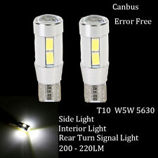 Pair Car T10 5630 10SMD LED Canbus Bulbs Side Parking Light For Mercedes-Benz