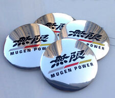 "4x 56mm 2.2"" Car Wheel Center Hub Cap Emblem Badge Decal For MUGEN Glossy NEW"